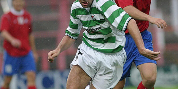 TNS V Osters IF UEFA Cup 1st round 2nd leg at the Racecourse Ground Wrexham.