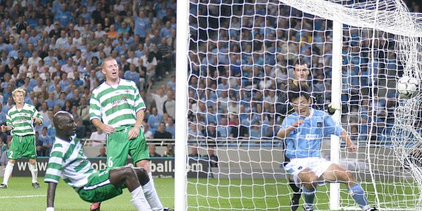 Manchester City v TNS UEFA Cup.