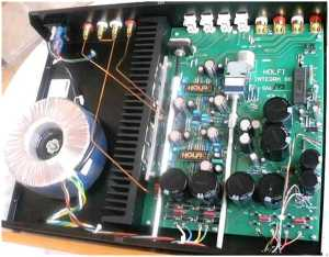 Holfi Integra 88 SE amplifier [English]