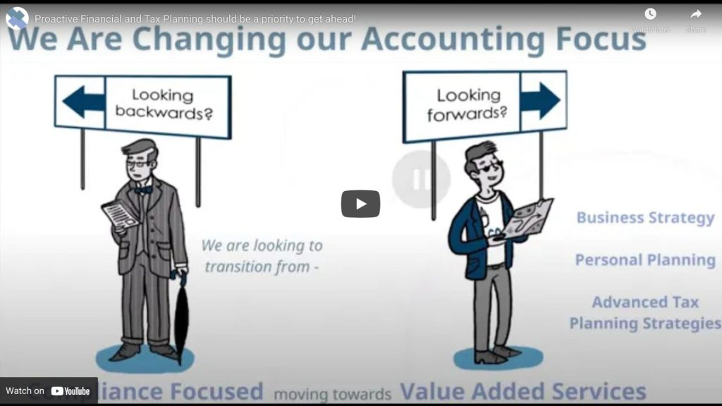 Proactive Financial and Tax Planning should be a priority to get ahead
