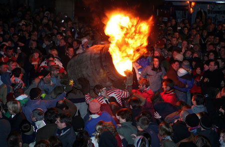 Image result for ottery st mary tar barrels