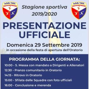 presentazione ufficiale squadre stagione 2019 2020