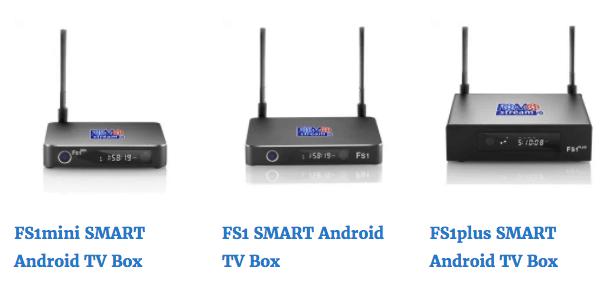 FOMOstream® Android TV Box Models