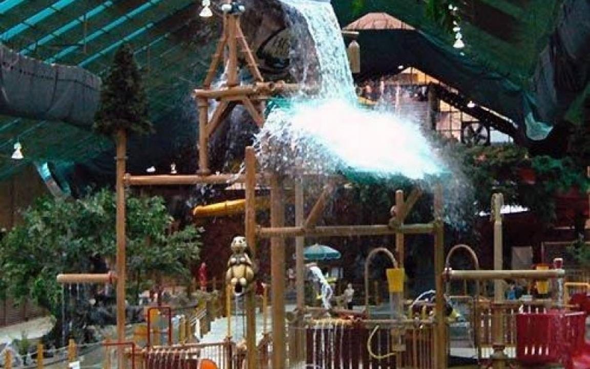 Gatlinburg Wilderness Resort Indoor Water Park