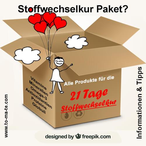 Produktpaket für die 21 Tage Stoffwechselkur bestellen