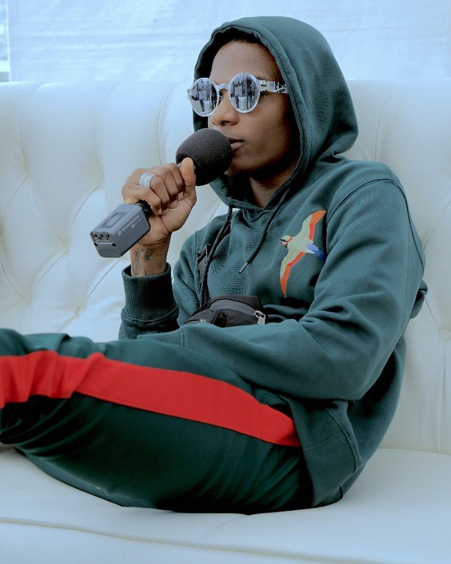 Wizkid Announced The Signing Of New Artist, Terri To Starboy Entertainment & Set To Drop 'Made In Lagos' EP