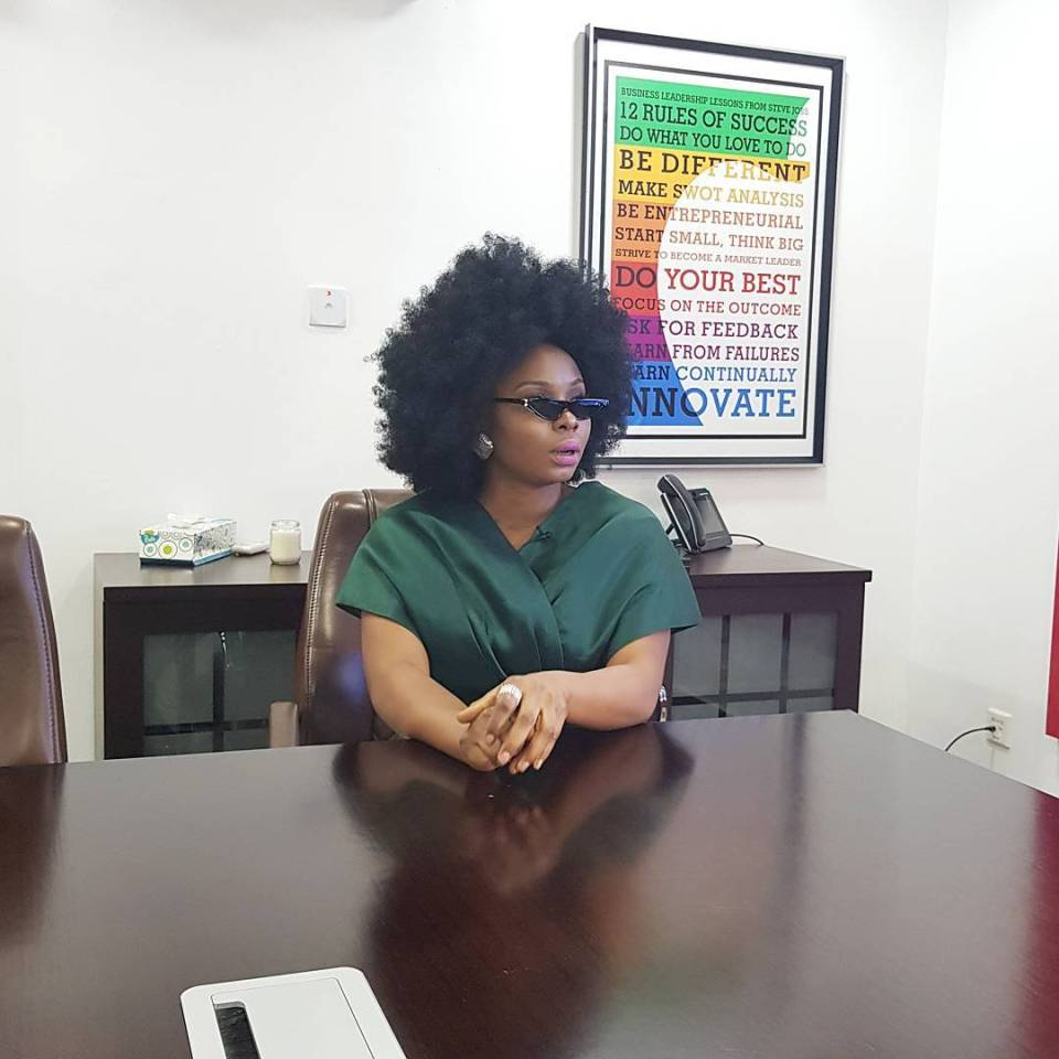 """Selebobo Does Not Write My Songs"" - Yemi Alade 