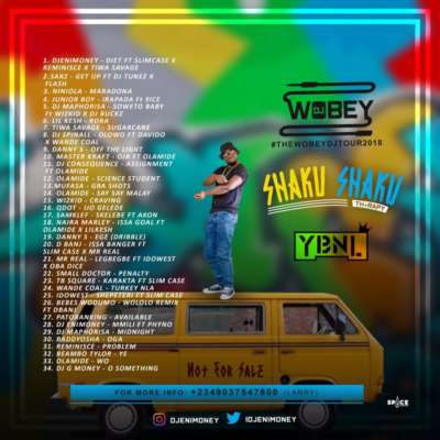"DJ Enimoney – ""Shaku Shaku Therapy"" Mix"