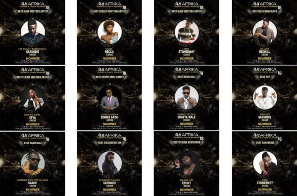 Ebony, Medikal, Sarkodie and Others Earn Nominations At African Music Industry (AMI) Awards