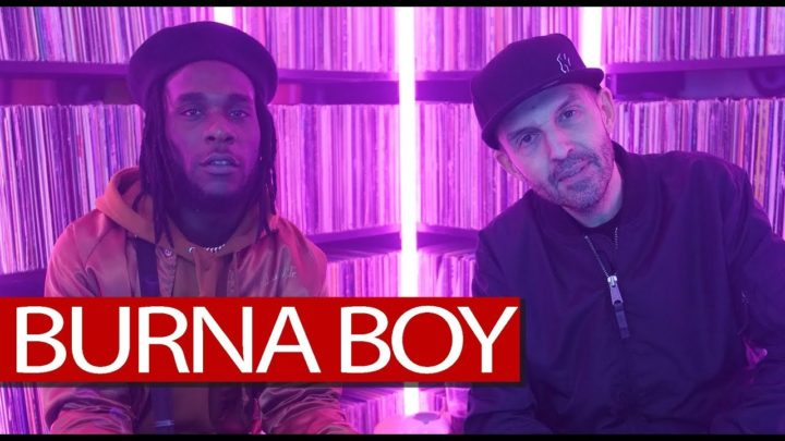 "VIDEO: Burna Boy Talks New Album ""Outside"" , UK Scene And More On Tim Westwood + Freestyle"