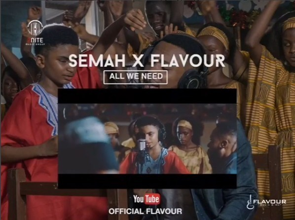 AUDIO & VIDEO : Semah G Weifur ft. Flavour – All We Need