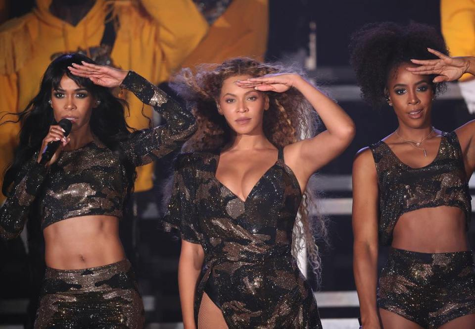 Beyonce Pays Homage To Fela Kuti At Her Coachella Performance