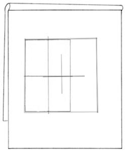Proportional sizing square with bounding box Rosinski