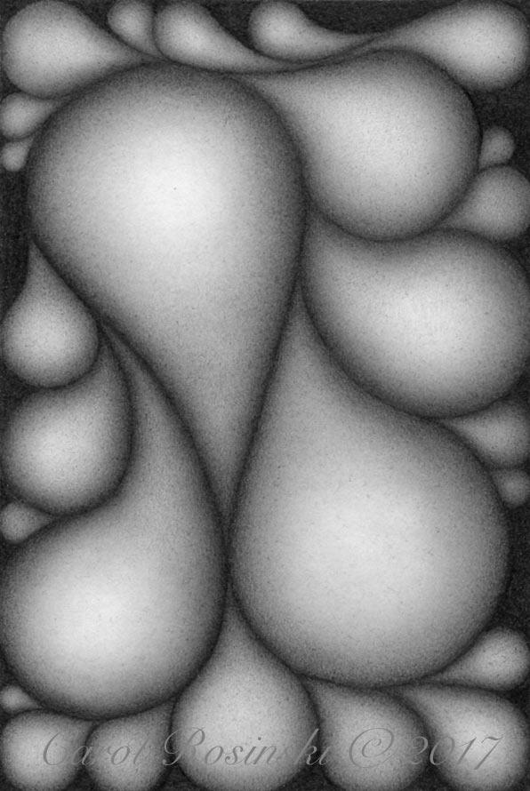 Abundance drawing in process by C. Rosinski