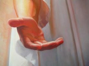 Jesus Open Hand