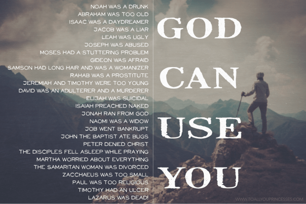 God Can Use You, God Can Use Anyone