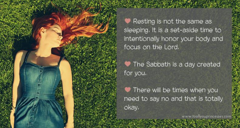 Summary of Thou Shalt Rest - To All You Princesses