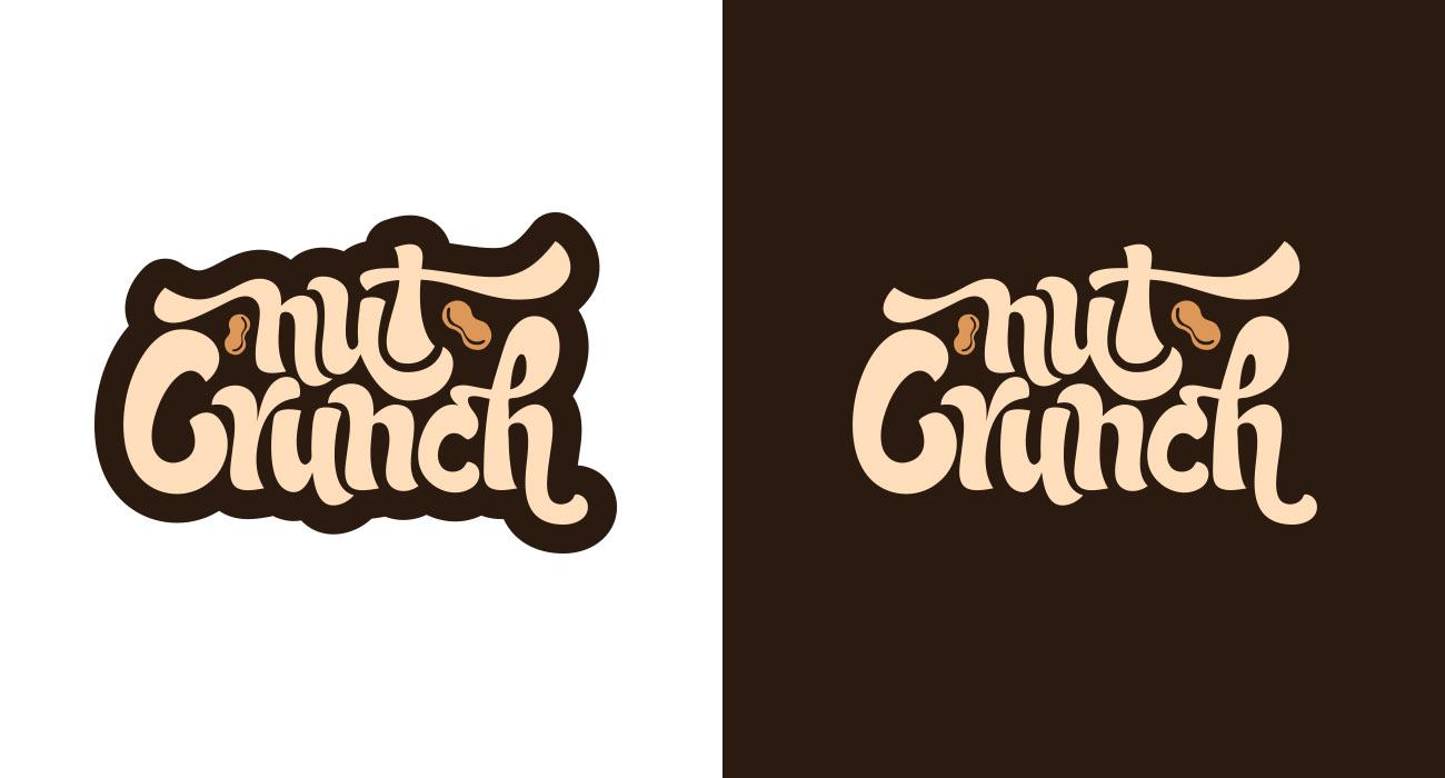 Nut Crunch Logo Alternates