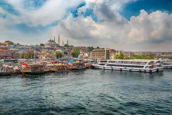 Colourful Istanbul Art Photography Print