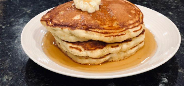 Southern Pecan Pancakes