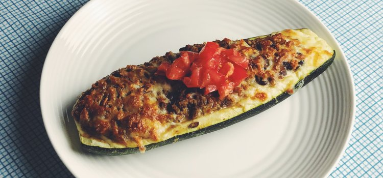 A Stuffed Zucchini Bake Inspired By Grandma