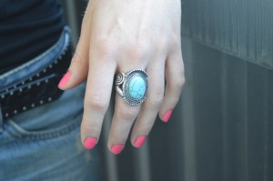 A beautiful and quirky ring that Meaghan bought while recently in NYC!