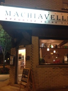 Machiavelli located in Montreal's Sud Ouest Area