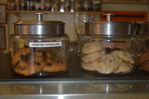 A cafe just isn't a cafe without cookies!