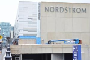 Rideau Centre gets ready for the arrival of Nordstrom.