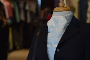 Mannequin Wearing Blouse and Show Jacket