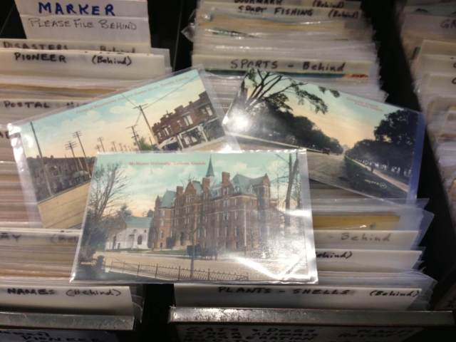 Photo postcards of Old Toronto from the 30s and 40s.