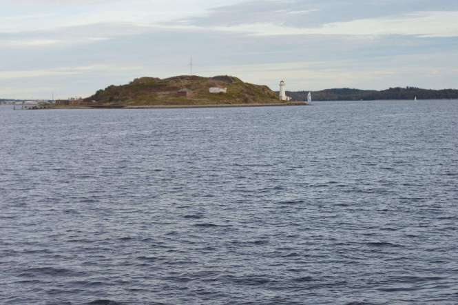 Picture of the coastline of Halifax.