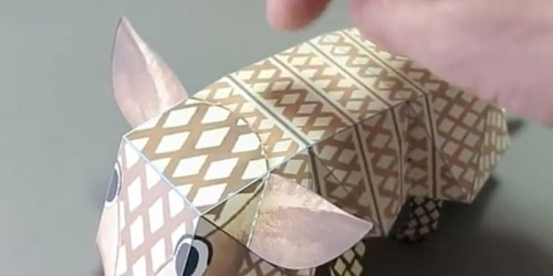 Haruki Nakamura Creates Amazing Karakuri Origami With Moving Mechanism