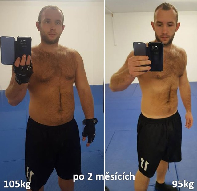 Lukáš Kročák shodil 10kg