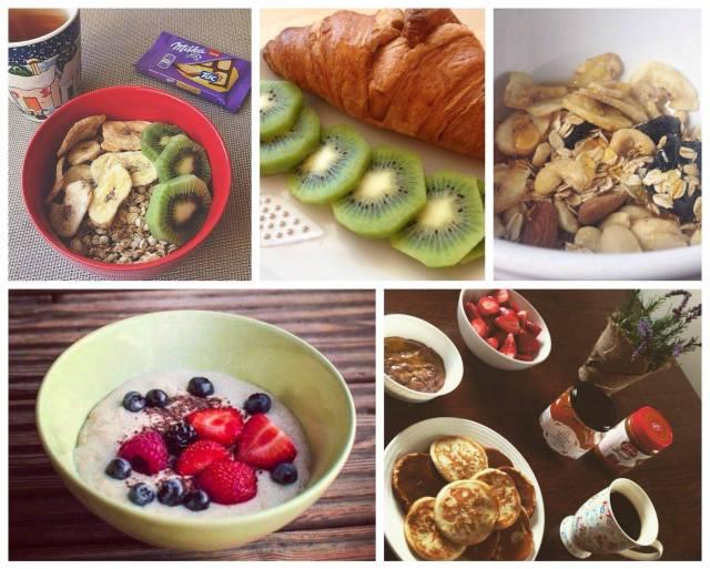Sacharidy, dobroty, snídaně