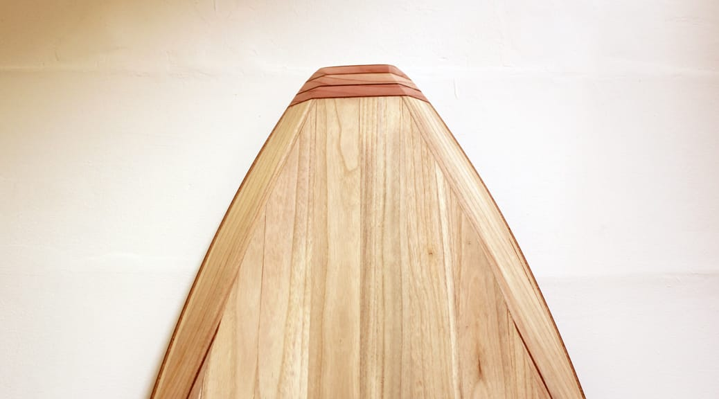 Allround-SUP aus Holz