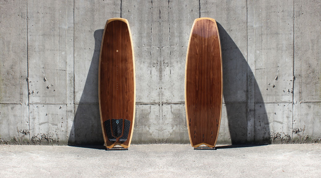 Kite-Surfboard im modernen Vanguard-Shape