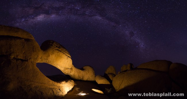 The Archrock, Panorama with 27 photos