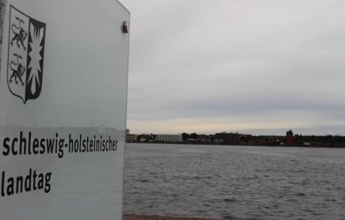 Landtag, Blick zur Förde