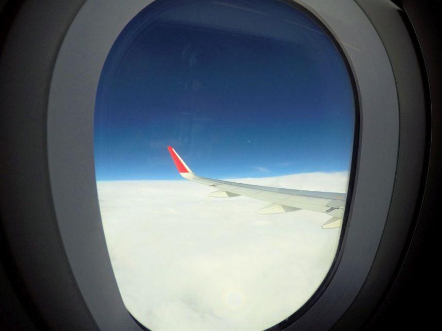 Flug nach Bali