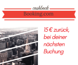 Cashback booking.com
