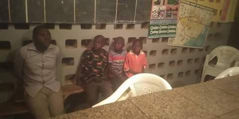 Suspected kidnapper caught with three children in Taraba state lailasnews 2