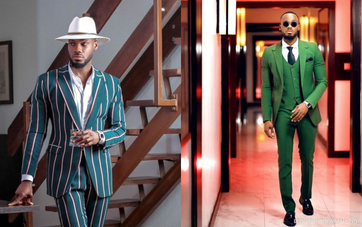 Checkout BBNaija Prince Hot Collections of Photos he dishes out to Fans