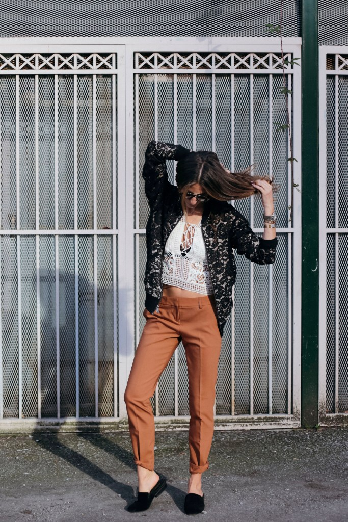Work wear outfit featuring Express styled by Blogger Kiara Schwartz of TobruckAve