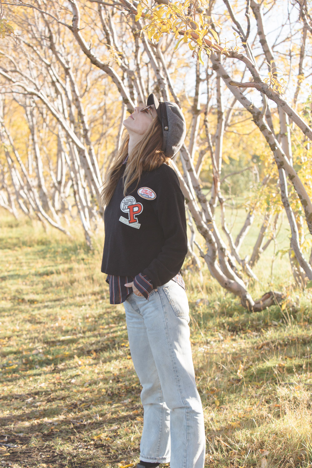 How to layer for Fall by Kiara Schwartz