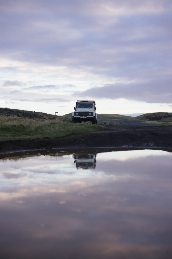 Iceland Defender roadtrip
