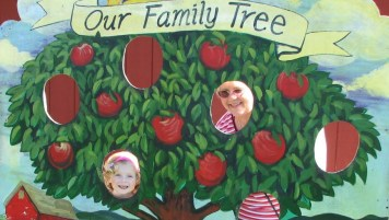 Charlotte and Granny in the Family Tree