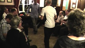 Swan Stepping, 27-12-2012 Toby Bennett and Simon Harmer