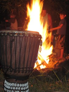 The Fire Of The Drum Burns