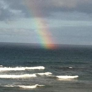 Ocean and Rainbow